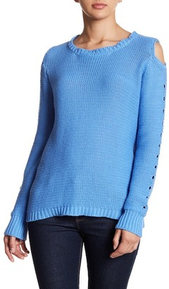 John & Jenn Cold-Shoulder Sweater $198 thestylecure.com