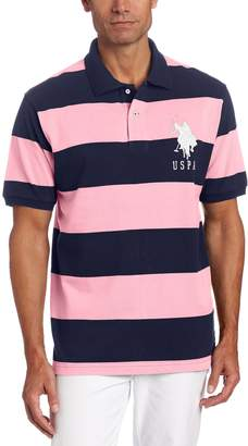 U.S. Polo Assn. Men's Rugby Striped Polo Shirt