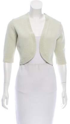 Michael Kors Cashmere Short Sleeve Shrug