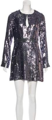 Tory Burch Sequined Cocktail Dress