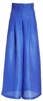 Tracy Reese High Waist Wide Leg Pants