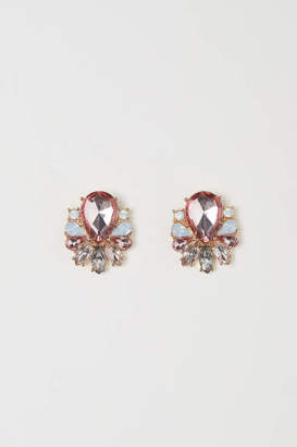 H&M Earrings - Light pink - Women