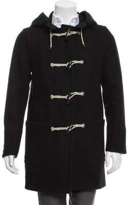Louis Vuitton Wool Toggle Coat black Wool Toggle Coat