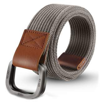 4a2c15b345a ITIEZY Men s Military Canvas Webbing Belt