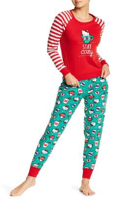Hello Kitty Stay Cozy 2-Piece Pajama Set