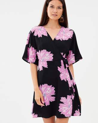 Vero Moda Frida Short Sleeve Wrap Dress