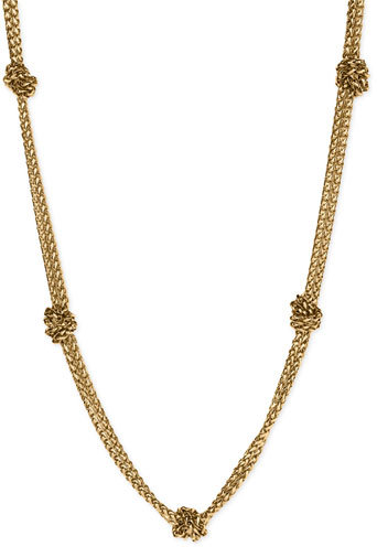 Lauren by Ralph Lauren Knot Chain Necklace