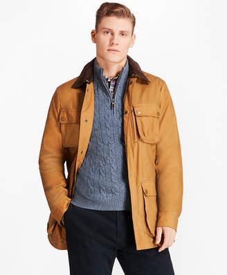 Brooks Brothers Waxed Field Jacket