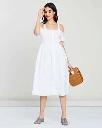 Mng Cold Shoulder Dress