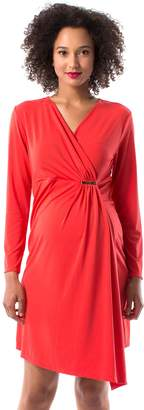 Pip & Vine By Rosie Pope Maternity Pip & Vine by Rosie Pope Faux-Wrap Dress