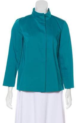 Lafayette 148 Stand Collar Casual Jacket