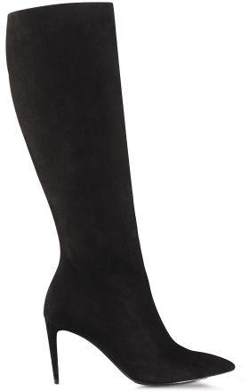Ralph Lauren Suede Artilah High-Heel Boot