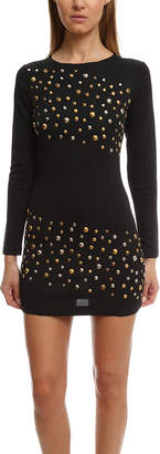 Pierre Balmain Long Sleeve Embelished Dress
