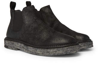 Marsèll Washed-Suede Chelsea Boots - Black