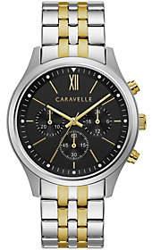 Caravelle Men's Chronograph Two-Tone Bracelet Watch