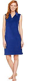 Denim & Co. Beach Knit Terry Sleeveless CoverUp Dress