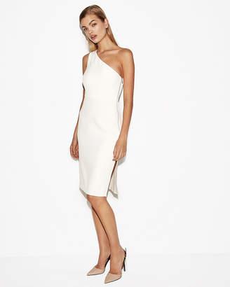 Express One Shoulder Sheath Dress