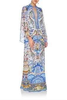 Camilla Geisha Gateways Drawstring Button Up Dress