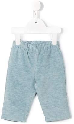 Cashmirino Ribbed trousers