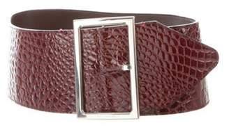 Dolce & Gabbana Patent Leather Waist Belt Patent Leather Waist Belt