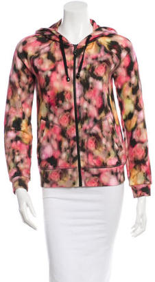 Mulberry Hooded Zip-Up Sweater $85 thestylecure.com