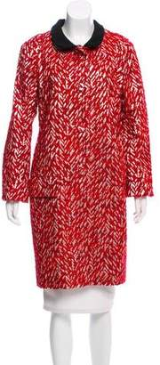 Marni Lurex Knee-Length Coat