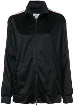 Couture Forte Dei Marmi zipped logo strip sweater