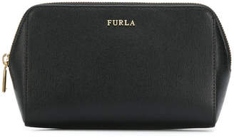 Furla logo make-up bag
