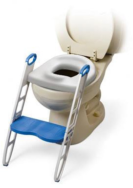 Mommys Helper Mommy's Helper Cushie Step Up Padded Potty Seat with Step Stool