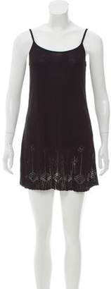 DKNY Sleeveless Patterned Tunic
