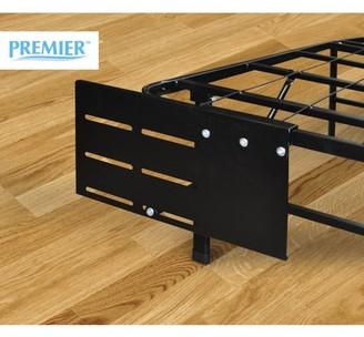 Premier Ellipse Headboard/Footboard Bed Frame Bracket, Black