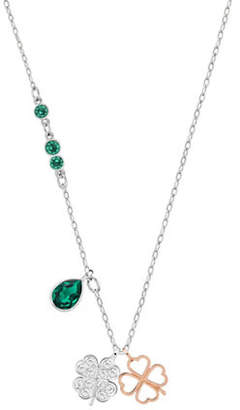 Swarovski Pendant Clover Charm Necklace