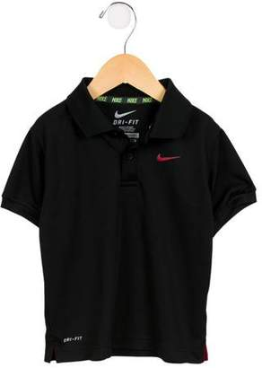 Nike Boys' Short Sleeve Collared Shirt