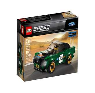 Lego Speed Champions Buildable Toy Vehicle 1968 Ford Mustang Fastback 75884