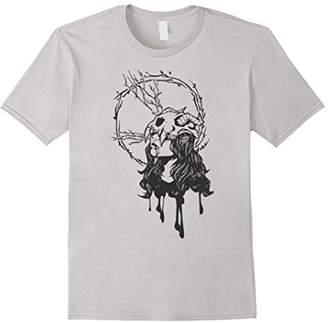 Girl / Artistic / Skull / Horn / Geometric T-Shirt