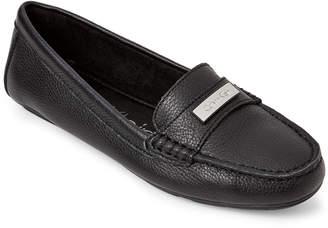 Calvin Klein Black Leta Leather Loafers