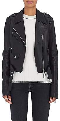 The Row Women's Perlin Leather Moto Jacket