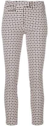 Dondup slim printed trousers