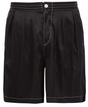 SASQUATCHfabrix. Safari Silk Shorts - Mens - Black