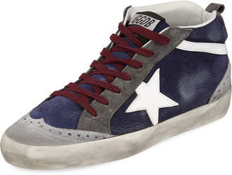 Golden Goose Superstar Leather Mid-Top Sneakers