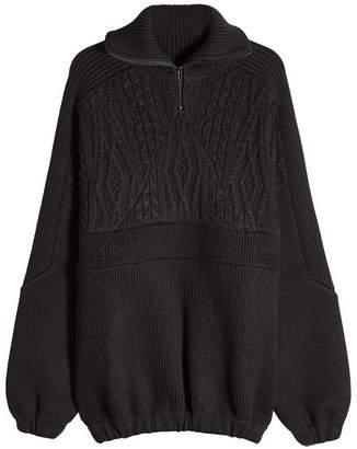 Balenciaga Knit Pullover with Virgin Wool