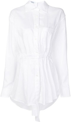 Prada elasticated waist shirt