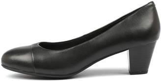 Hush Puppies Capital hp Black Shoes Womens Shoes Comfort Heeled Shoes