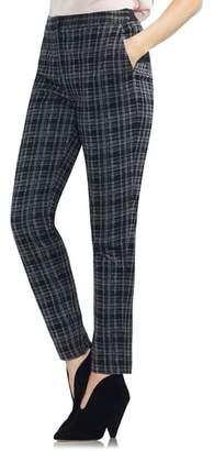 Vince Camuto Glen Plaid Slim Leg Pants