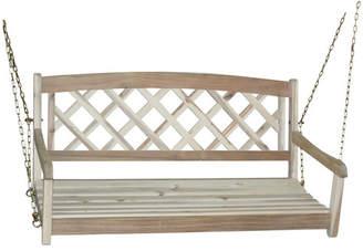 Beachcrest Home Ridgeland X-Back Porch Swing