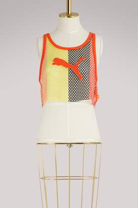 FENTY PUMA by Rihanna Mesh cropped tank top
