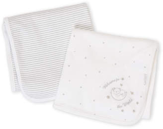 Little Me Two-Pack Swaddle Blankets