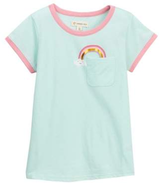 Tucker + Tate Graphic Pocket Tee (Toddler & Little Girls)