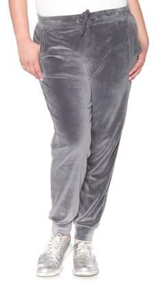 SLINK Jeans Velour Jogger Pants