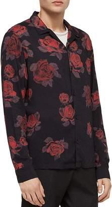 AllSaints Thorn Slim Fit Button-Down Shirt